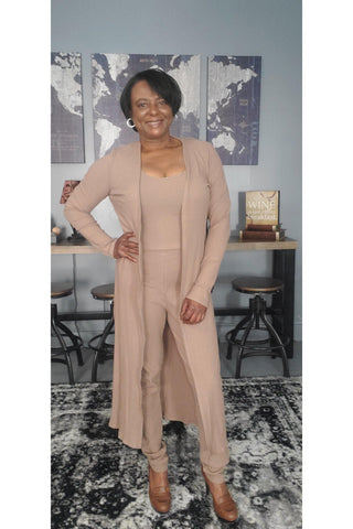 Hanna Ribbed Set  - 1uniqueboutiques