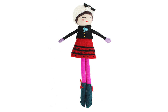 French Knot Doll- Matina