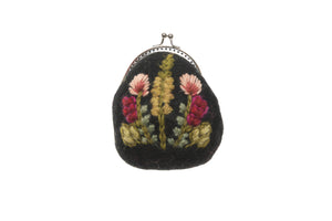 Meadow Clasp Pouch - French Knot