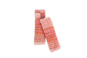 Long Stripe Hand Warmer - French Knot