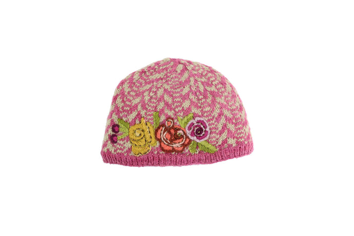 Grecian Flower Hat - French Knot