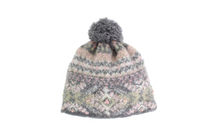 Cozy Ethnic Hat - French Knot