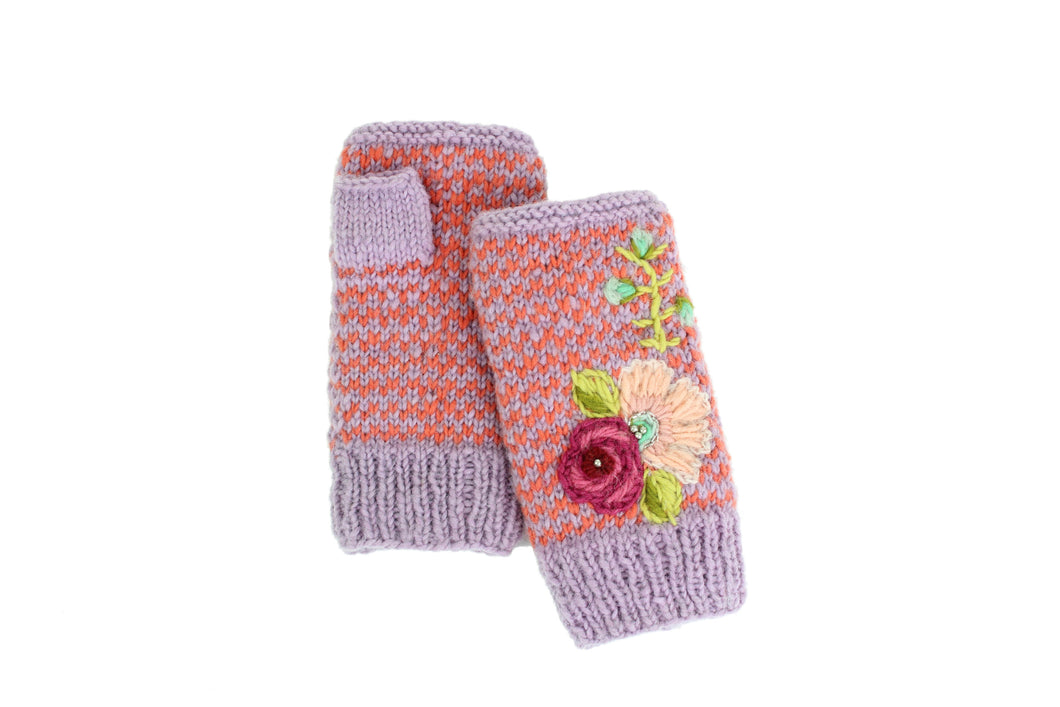 Gwen Hand Warmer - French Knot