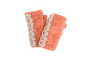 Lace Handwarmer - French Knot