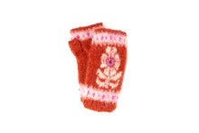 Molly Hand Warmer - winter hat glove - hand-knit - French Knot