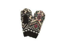 Ingrid Mitten - winter hat glove - hand-knit - French Knot