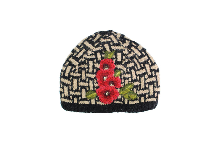 Deco Floral Hat - French Knot