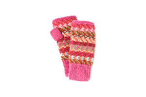 Dakota Hand Warmer - winter hat glove - hand-knit - French Knot