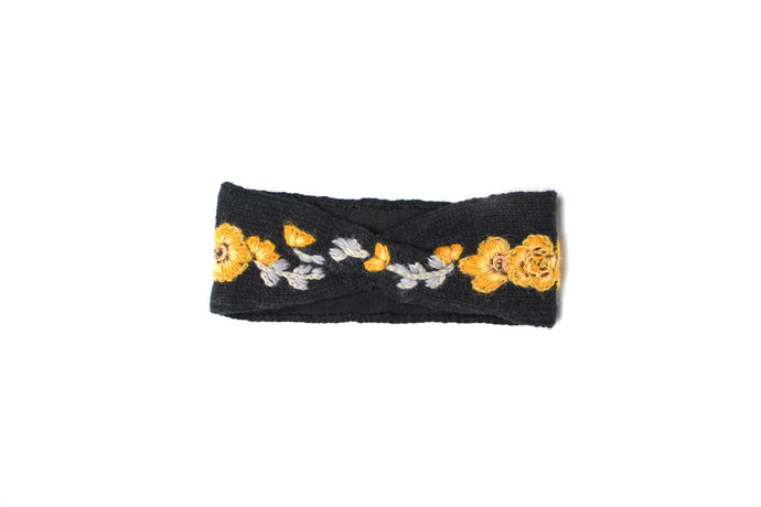 Collegiate Flower Crown Headband