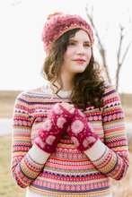Daisy Hand Warmers - French Knot