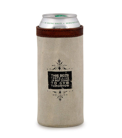 heat transfer koozie beer mug holder