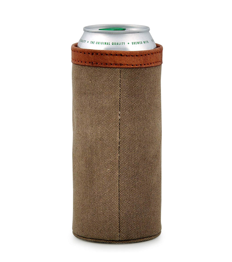 knitted koozie belt beer holder