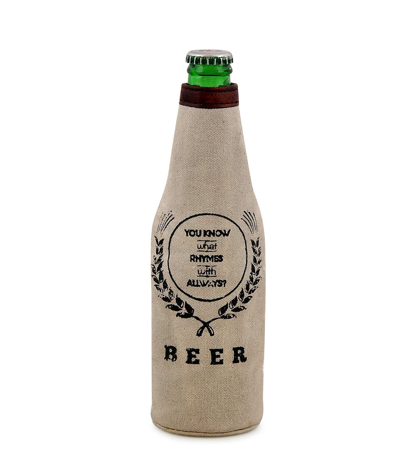 'What rhymes with always' Beer Koozie DBK18-0004