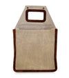 2 pack cardboard bottle carrier
