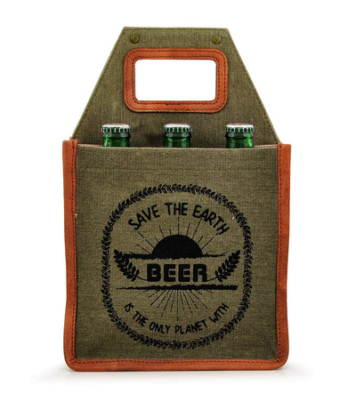 six pack beer box