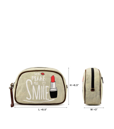 hard case cosmetic bag