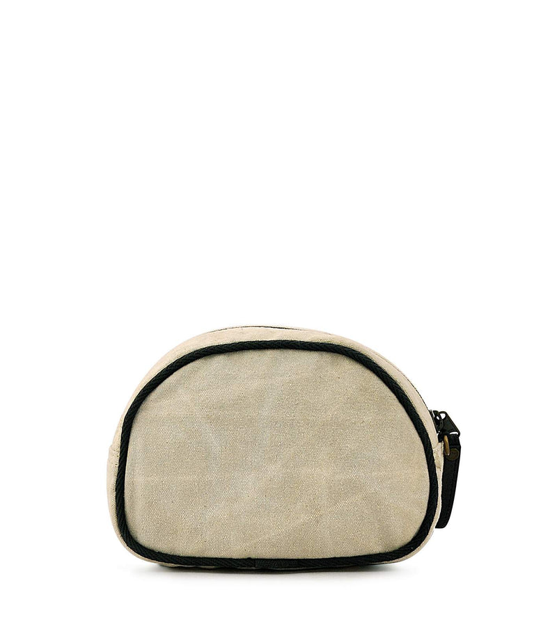 plain canvas cosmetic bag