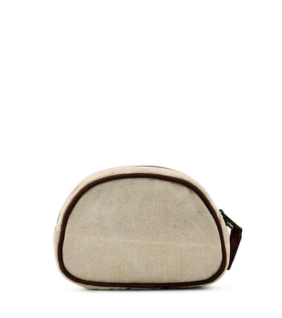 canvas cosmetic bag plain