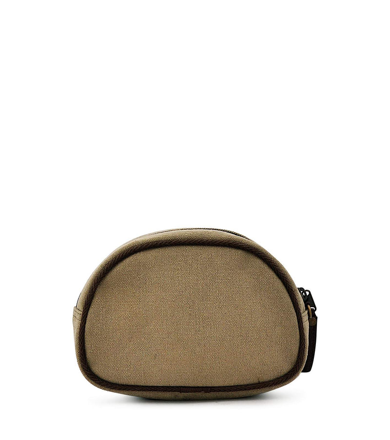 canvas makeup zipper pouch