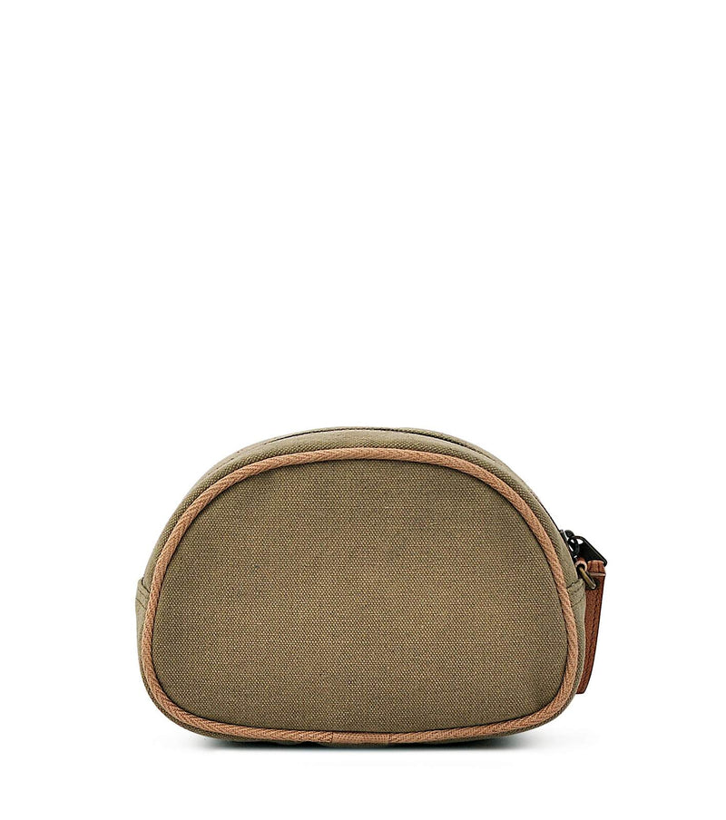cotton canvas makeup bag