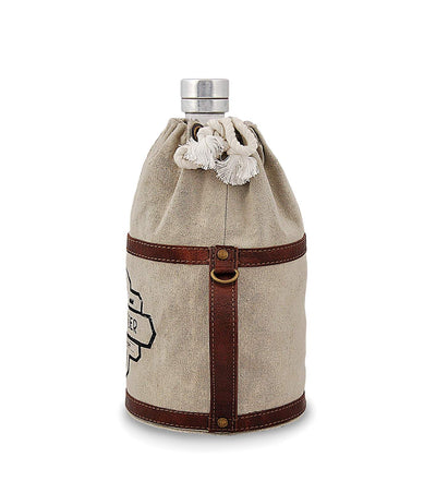 copper growler clear glass growler