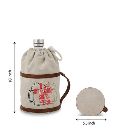growler barril 128oz growler sublimated stainless steel growler