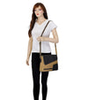 denim crossbody bags cross body tote bag leather handle canvas