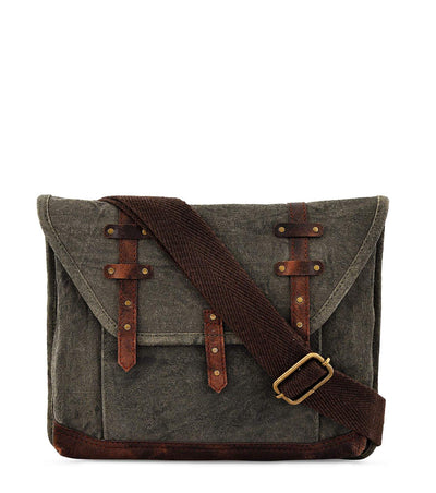 crossbody fanny pack small crossbody waxed canvas purse