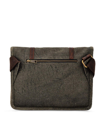 crossbody canvas bag satchel crossbody waxed canvas rucksack