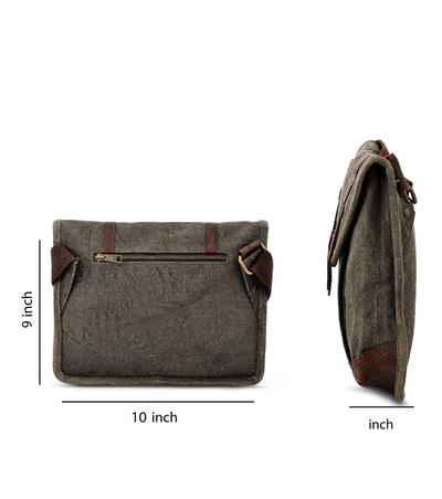 men bags crossbody unique crossbody bag waxed canvas mat