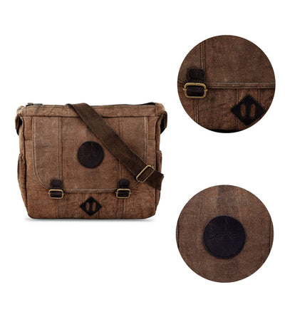 crossbody leather bag tassel crossbody bag waxed canvas camera bag