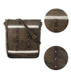 holographic crossbody bag women cross body shoulder bag waxed canvas watch roll