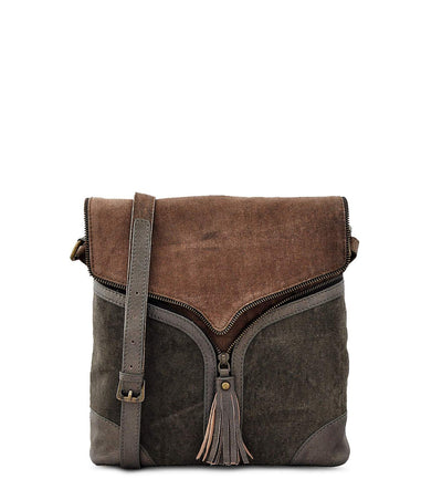 gold crossbody bag leather cross body canvas tote bag with leather straps