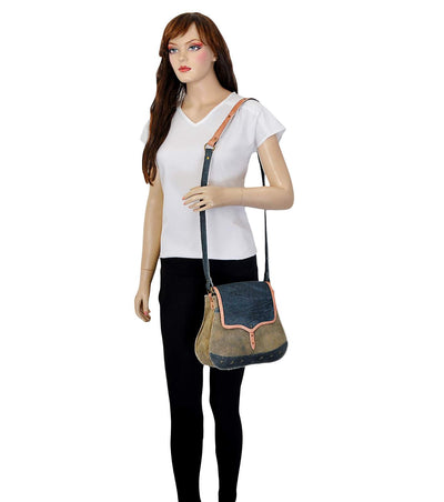 genuine leather crossbody bag cross body waist bag small canvas bag with drawstring
