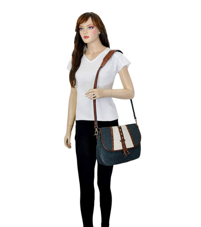 pu crossbody bag cross body bag custom logo canvas leather