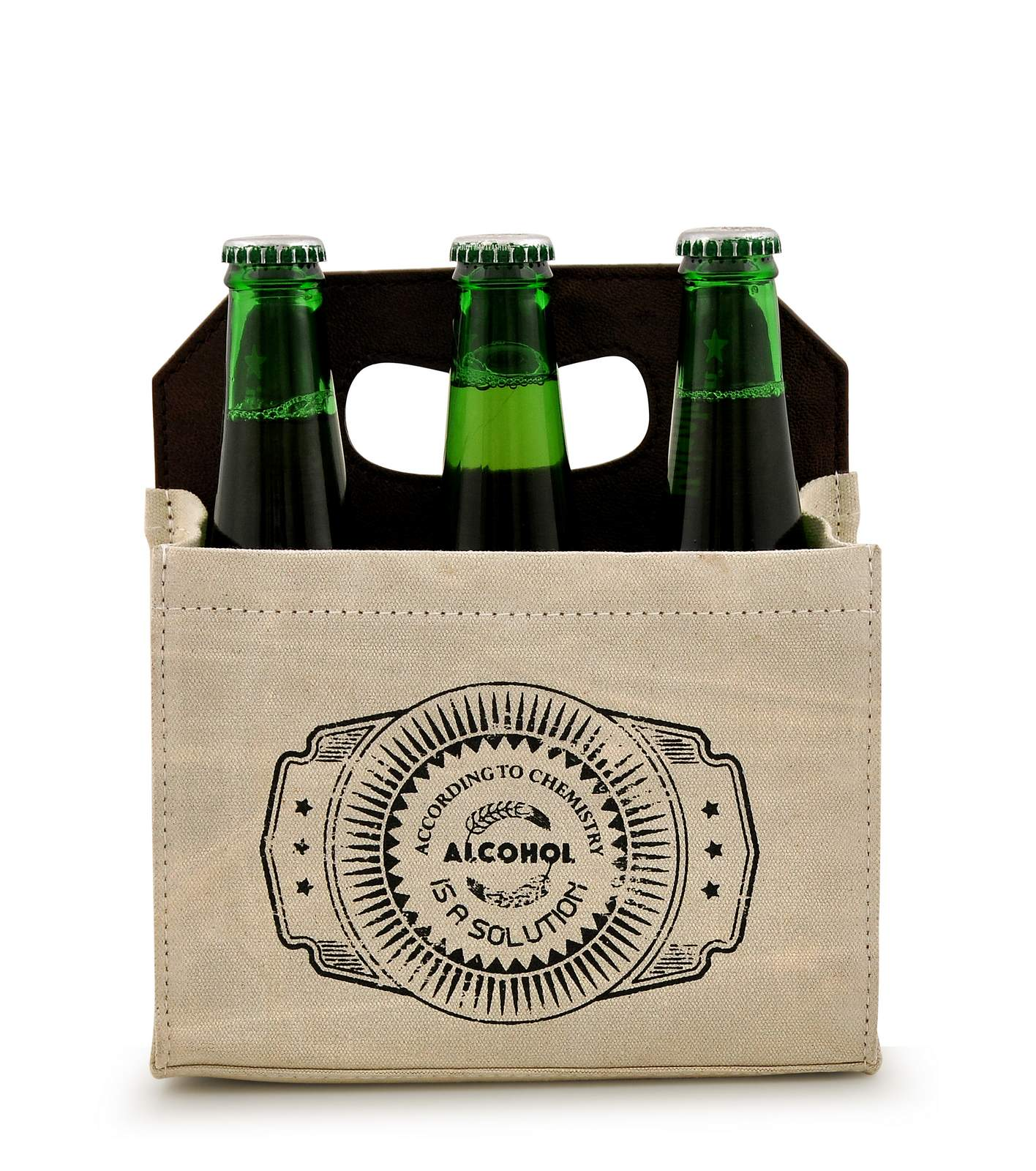 Canvas Beer Caddy 6 Pack DST18-0003