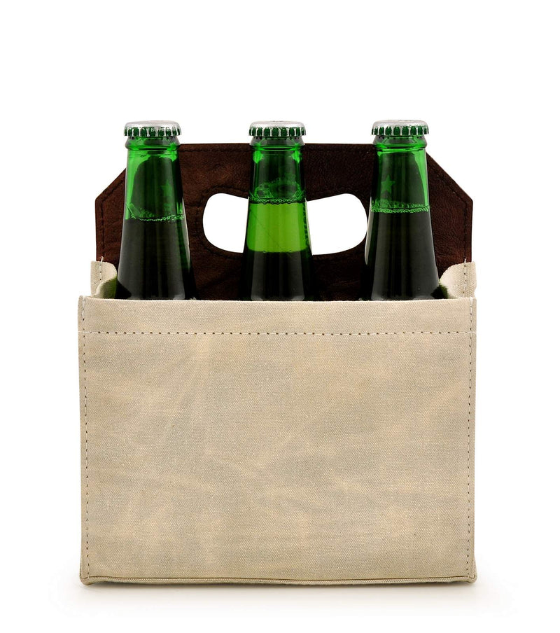 Canvas Beer Caddy 6 Pack DST18-0005