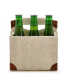 insulated beer bottle carrier