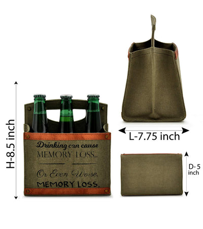 4 pack beer bottle carrier