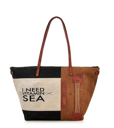 beach canvas tote bag canvas tote bag with leather handles canvas notebook cover waterproof ladies handbag