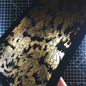 A4 Holographic/ Gold Foil Prints