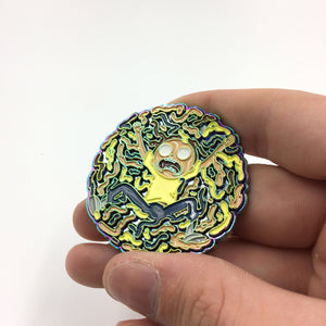 Bart, Rick & Morty Melt Pin Badge Set