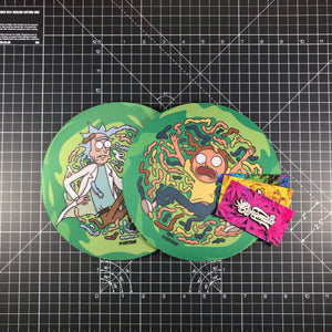 Rick & Morty BongMats