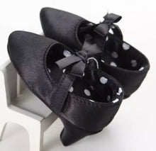Load image into Gallery viewer, MY FIRST HEELS -BLACK