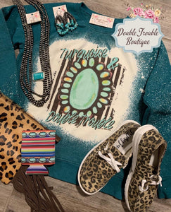 Turquoise & Double Trouble