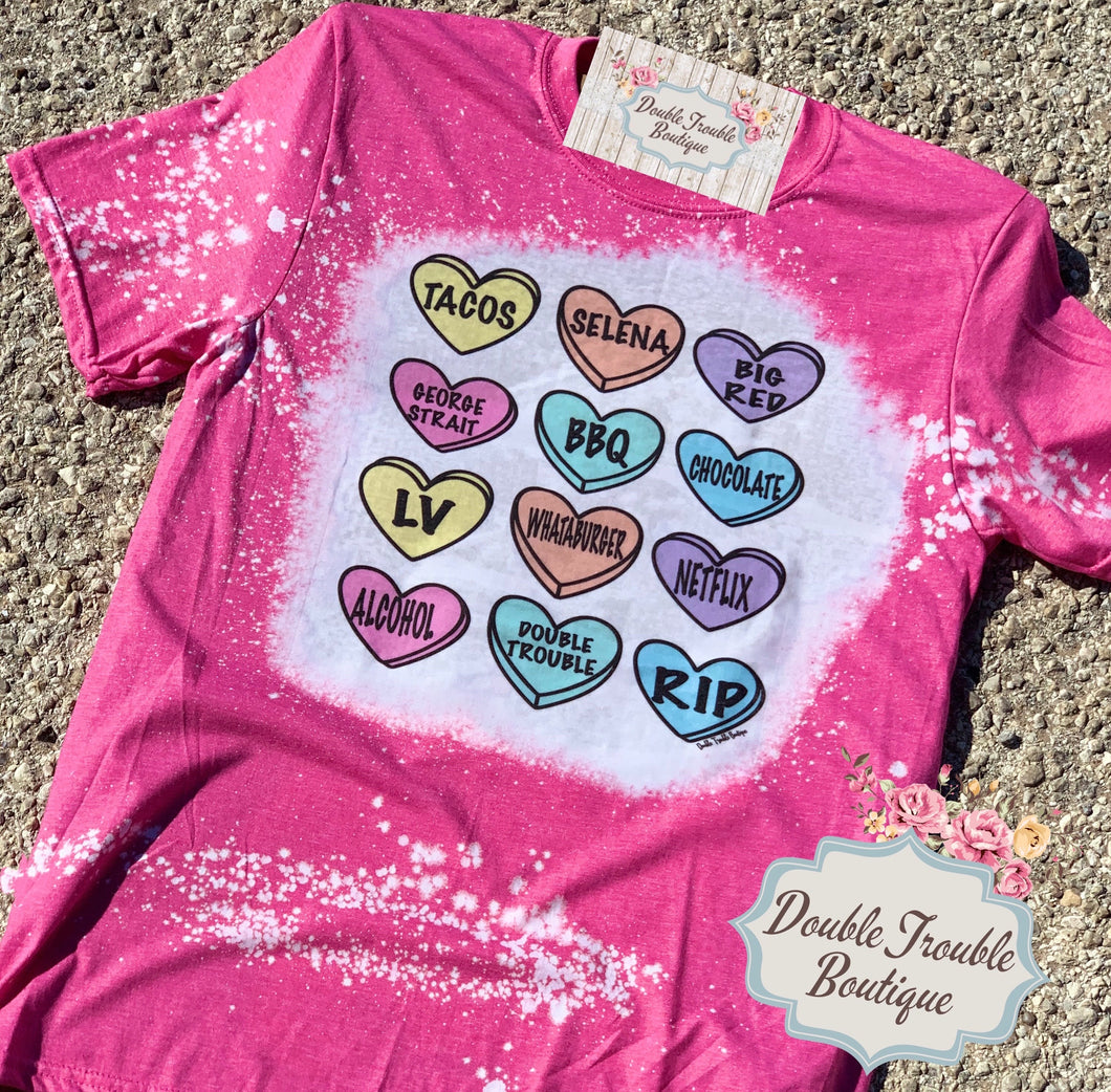 Sweet Hearts Graphic Tee