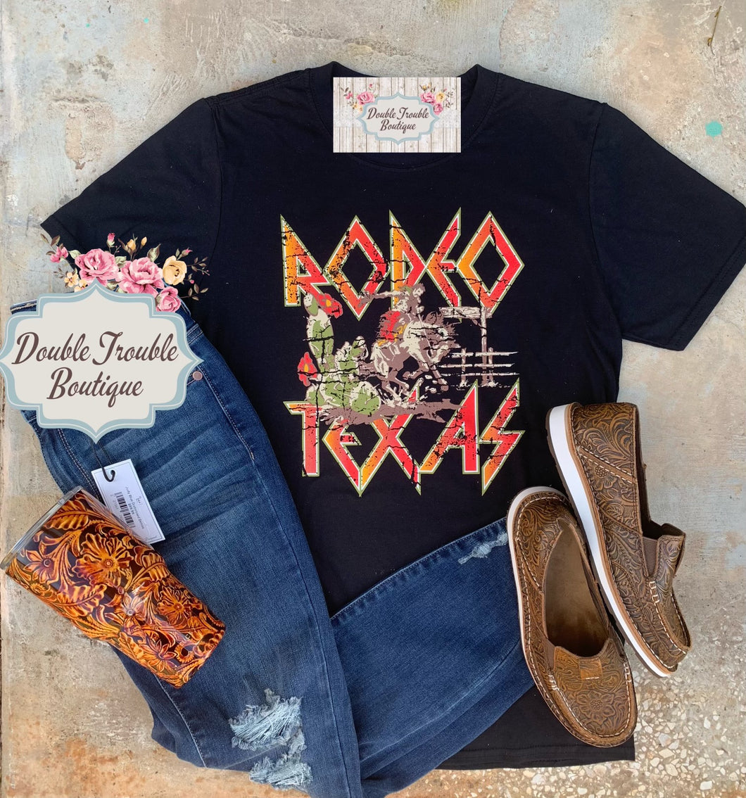 RODEO TEXAS GRAPHIC TEE