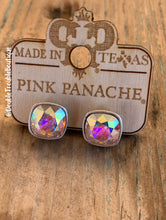 Load image into Gallery viewer, Pink Panache Post Studs LG- AB Silver