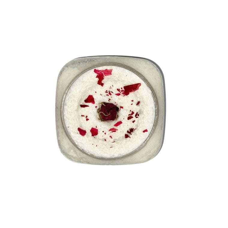 Rose Bud Whipped Salt Scrub