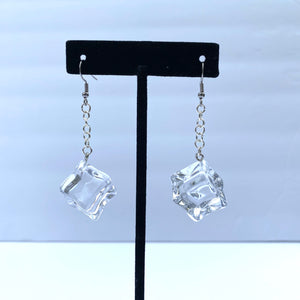 """Ice"" Drop Earrings"